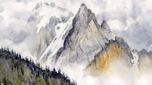 Mountains Mountains In Watercolor Bellamy U0027s Bivouac