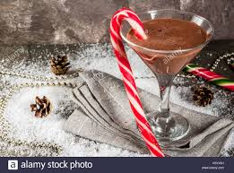 martini peppermint christmas drinks stock photos u0026 christmas drinks stock images alamy