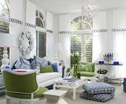 light blue and light green room house decor picture