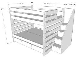 Plans For Building Built In Bunk Beds by Best 25 Bunk Beds For Adults Ideas On Pinterest Bunk Beds
