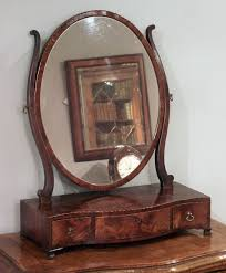 antique dressing table with mirror antique mahogany toilet mirror serpentine toilet mirror antique
