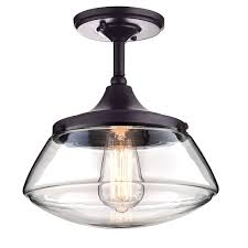 Ceiling Light Claxy Ecopower Vintage Metal Glass Ceiling Light 1 Lights