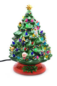ceramicistmas trees with lights for sale cheap