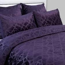 Duvet Cover Purple Benito Velvet Bedding Aubergine Amethyst Nicolette Bedroom