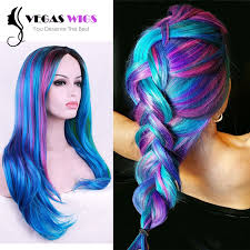 rainbow color hair ideas stunning multi colored hairstyles ideas styles ideas 2018