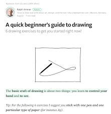 six simple ways to learn to draw helps the ux workflow u2013 fuseglitch