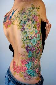 side tattoo the best flower tattoos