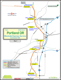 Map Of Beaverton Oregon by Portland Or Transit Guide Wes The Westside Express Service