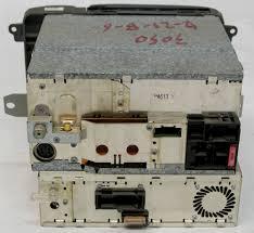 mercedes benz cl500 2000 factory am fm stereo nav navigation cd
