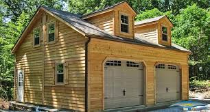 Single Car Garages by 2 Story Prefab Garage Prefabricated Garage Horizon Structures