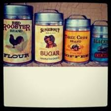 vintage canisters for kitchen vintage kitchen canisters antique vintage 4 metal
