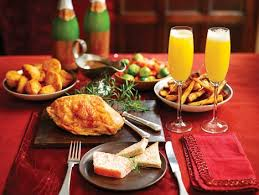 christmas dinner order online m s lure shoppers into store with a bargain 49 christmas lunch