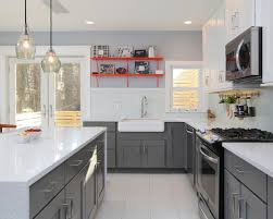 two tone kitchen cabinets full image for two color kitchen