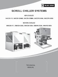 user manual chiller water cooled gas compressor cylinder