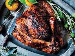moroccan spiced turkey with aromatic orange pan jus recipe myrecipes