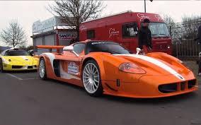 maserati mc12 orange nurburgring edo competition takes ferrari zxx u0026 maserati mc12 corsa