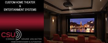 residential home theaters and home automation cinema sound