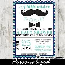 mustache and bow tie baby shower chevron blue mustache and bow tie baby shower party package