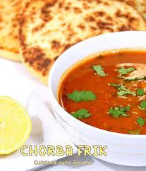 cuisine djouza chorba frik soupe algérienne au blé recettes faciles recettes