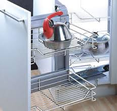 Kitchen Cabinet Pull Out Baskets Corner Pull Out Home Furniture U0026 Diy Ebay