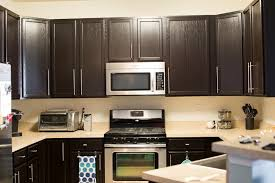 how to gel stain kitchen cabinets kitchen remodel with general finishes java gel stain the mix