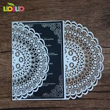 wedding supply aliexpress buy lace printable wedding supply laser cut