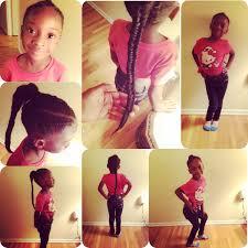 little girls hair styles cornrows fishtail black girls cute