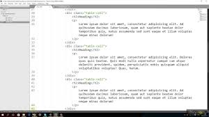 Css Responsive Table by Css 3 Table Properties Responsive Design Youtube