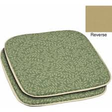 Patio Dining Chair Cushions Green Chair Cushion Cushions At Hayneedle Throughout Decorating