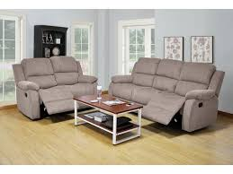Gray Reclining Sofa by 3 Piece Warm Gray Color Chenille Reclining Sofa Loveseat And