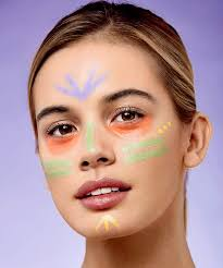 how to use colour correcting concealers to cover dark circles