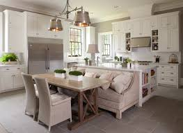 Kitchen Booth Seating Kitchen Transitional Gourmet Kitchen Transitional Kitchen Michael J Siller Interiors