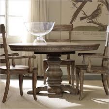 oval pedestal dining table hooker furniture sorella round pedestal dining table with leaf