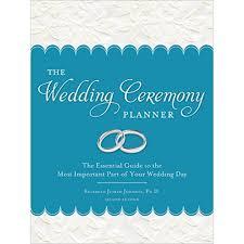 Best Wedding Planning Book Reverend Judith Johnson The Wedding Ceremony Planner Tops