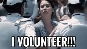 I Volunteer As Tribute Meme - i volunteer gifs search find make share gfycat gifs