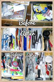 Organizing Your Kitchen Cabinets by Kitchen Drawer U0026 Cabinets Organization Before U0026 After Pics