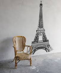 Eiffel Tower Wallpaper For Walls Awesome Eiffel Tower Super Large Vinyl Black Or White Wall Decal