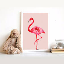 pink flamingo home decor interior 3 by katiemarilexa liked on polyvore featuring home