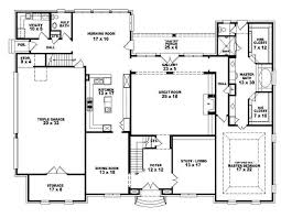 4 bedroom 1 house plans floor plan through three and for home level ideas affordable