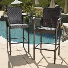 out door bar stools mercury row lansdale 30 patio bar stool reviews wayfair
