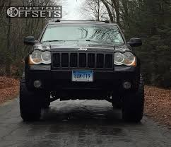 2008 lifted jeep grand wheel offset 2008 jeep grand aggressive 3 5