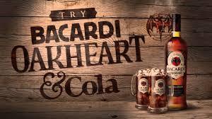 bacardi oakheart logo try bacardi oakheart wmv youtube