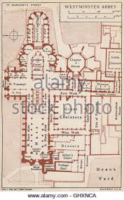 floor plan of westminster abbey westminster abbey vintage map plan london 1927 stock photo