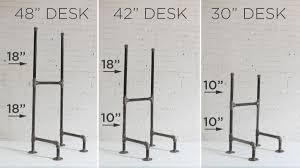 Stand Up Desk Diy by Standing Desk Legs Decorative Desk Decoration