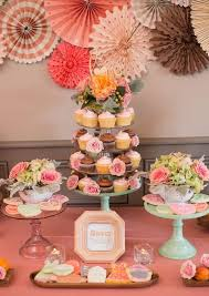 kitchen shower ideas southern tea themed bridal brunch shabby chic bridal