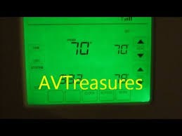 honeywell wifi vision pro 8000 thermostat youtube