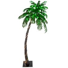 lighted palm trees 6 led curved lighted palm tree