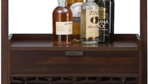 Antique Liquor Cabinet Bar Small Antique Liquor Cabinet With Varnished Hardwood Drawer