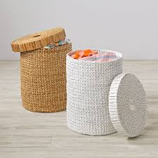 Baby Laundry Hampers by Wonderful Wicker Laundry Hamper The Land Of Nod