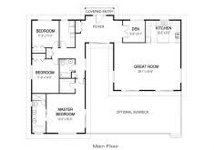 house plans with open concept awesome house plans open concept i like the foyer study open